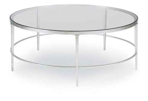 Highland House - East Bay Round Cocktail Table - HH19-604-AS