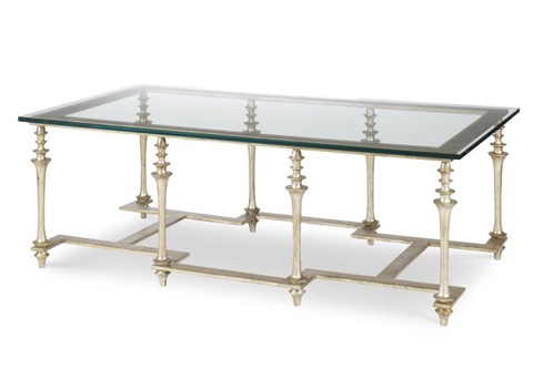 Highland House - Larchmont Cocktail Table - HH25-609-AS
