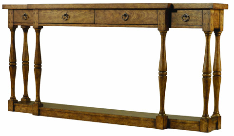 Hooker Furniture - 4 Drawer Thin Console - 3001-85001