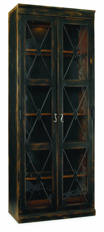 Image of Two Door Thin Display Cabinet