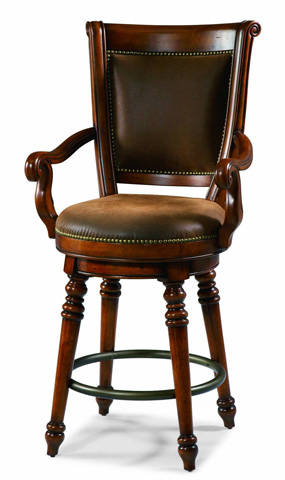 Hooker Furniture - Waverly Place Return Memory Swivel Counter Stool - 366-75-550