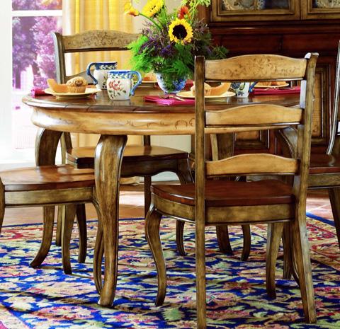 Hooker Furniture - Vineyard Round Dining Table w/1-20