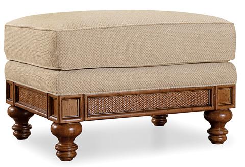 Hooker Furniture - Windward Dart Honey Ottoman - 1125-52016