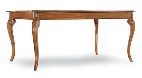Hooker Furniture - Windward Rectangle Leg Table w/18