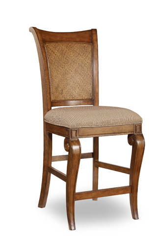 Image of Windward Raffia Counter Stool