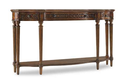 Image of Three Drawer Thin Console