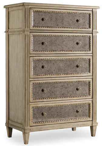 Hooker Furniture - Sanctuary Five Drawer Chest - 3023-90010