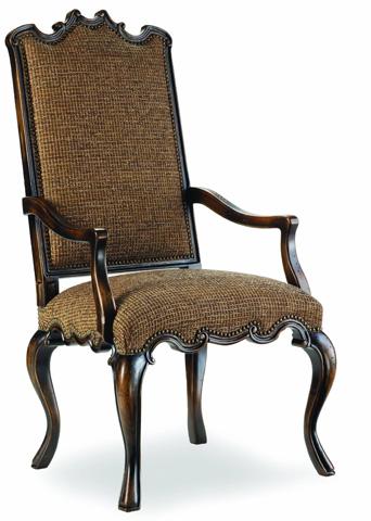 Hooker Furniture - Canterbury Ebony Arm Chair - 200-351257
