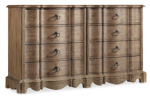 Image of Corsica Eight Drawer Dresser