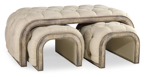 Hooker Furniture - Brantley Tufted Cocktail - 638-50118