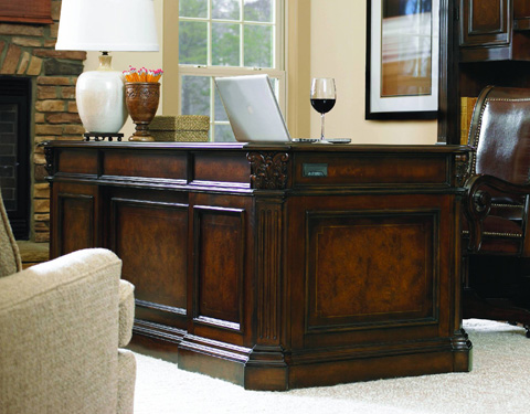 Hooker Furniture - European Renaissance II Executive Desk - 374-10-562