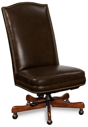 Image of Sicilian Cipriani Chocolate Brown Executive Chair