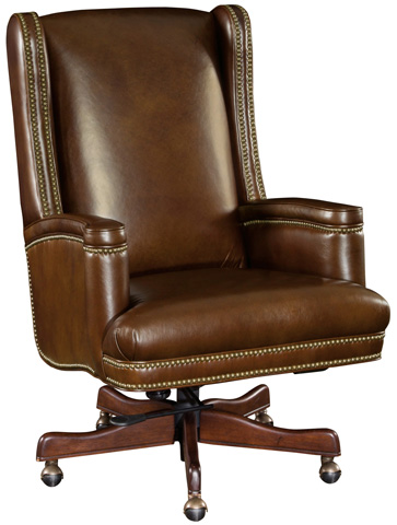 Hooker Furniture - Valenica Arroz Executive Swivel Tilt Chair - EC392-088