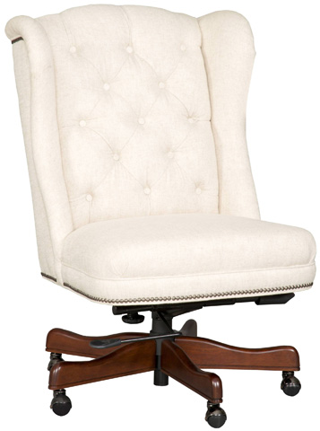 Hooker Furniture - Chateau Linen Executive Swivel Tilt Chair - EC401-080