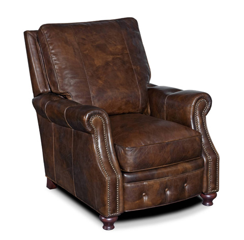 Image of Old Saddle Cocoa Recliner Chair