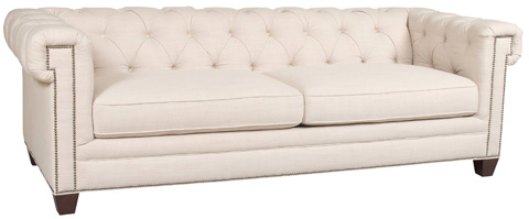 Hooker Furniture - Linosa Linen Sofa - SS195-03-010