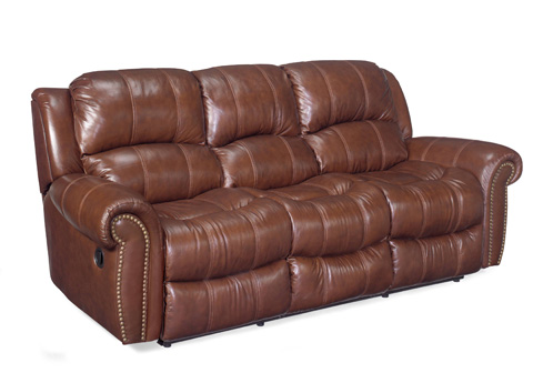 Hooker Furniture - Cognac Reclining Sofa - SS601-03-087