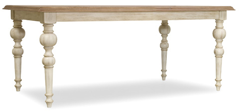 Hooker Furniture - Rectangular Dining Table with Leaves - 5325-75200