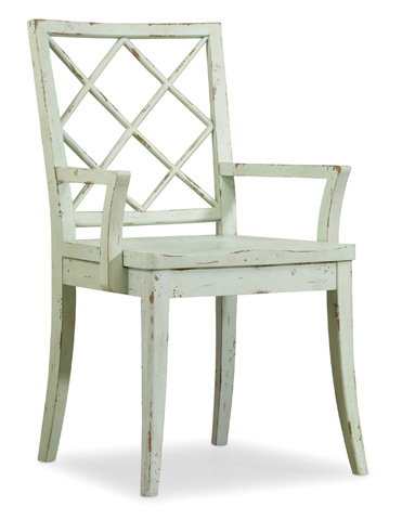 Hooker Furniture - X Back Arm Chair - 5326-75300