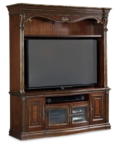 Hooker Furniture - Grand Palais Two Piece Entertainment Console - 5272-70202