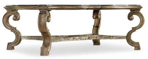 Hooker Furniture - Solana Rectangle Cocktail Table - 5291-80110