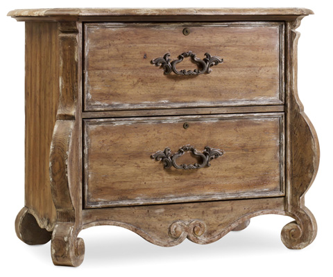 Hooker Furniture - Chatelet Shaped File Chest - 5300-10466