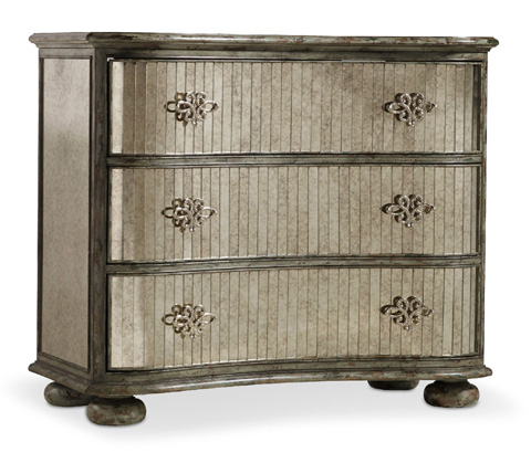 Hooker Furniture - Shaped Mirrored Chest - 5315-85001