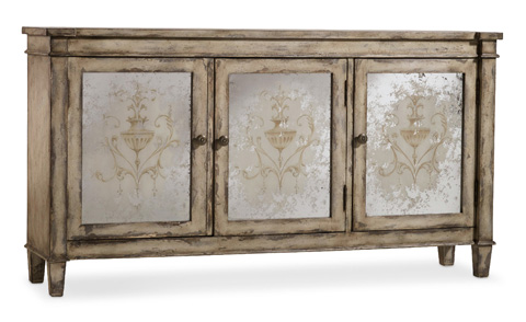 Hooker Furniture - Three Door Mirrored Chest - 5316-85001