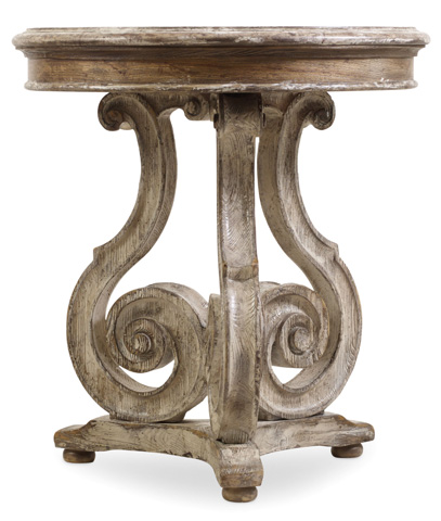 Image of Chatelet Scroll Accent Table