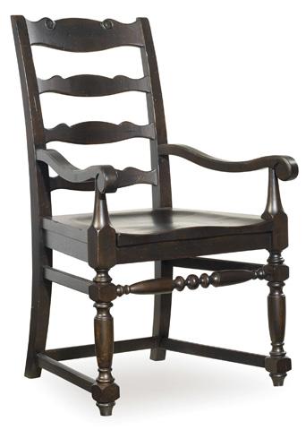 Hooker Furniture - Treviso Ladderback Arm Chair - 5374-75300