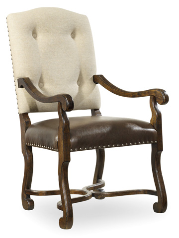 Image of Treviso Camelback Arm Chair
