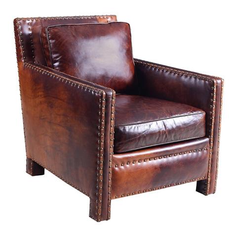 Hooker Furniture - Parthenon Temple Club Chair - CC880-087