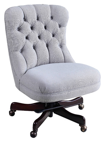 Hooker Furniture - Larkin Dove Executive Swivel Tilt Chair - EC429-010