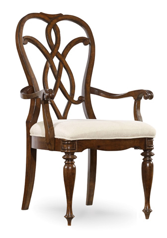 Image of Leesburg Splatback Arm Chair