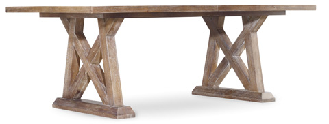 Image of Geo Trestle Dining Table