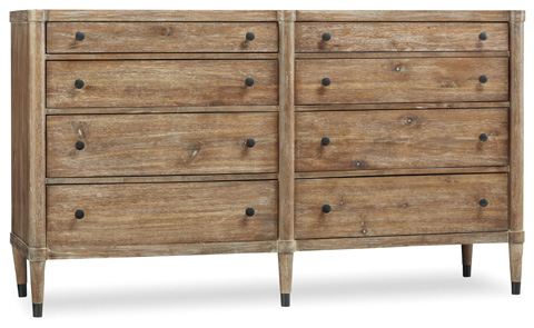 Image of Annika Eight Drawer Dresser