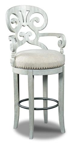 Hooker Furniture - Mimosa Cottage Fabric Barstool - 300-20006