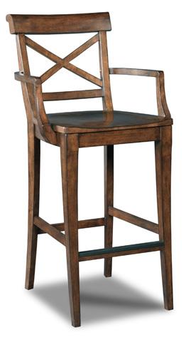 Hooker Furniture - Rob Roy X-Back Barstool - 300-20008