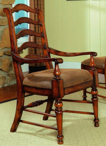 Hooker Furniture - Waverly Place Ladderback Arm Chair - 366-75-400
