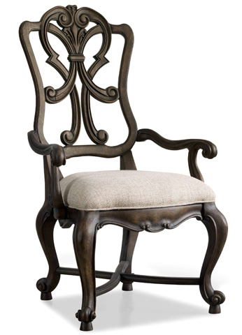 Hooker Furniture - Rhapsody Wood Back Arm Chair - 5070-75401