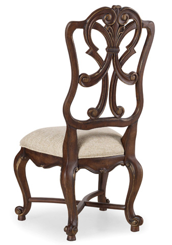 Image of Adagio Wood Back Side Chair