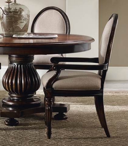 Image of Eastridge Oval Back Arm Chair