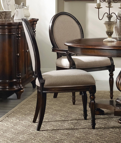 Image of Eastridge Oval Back Side Chair