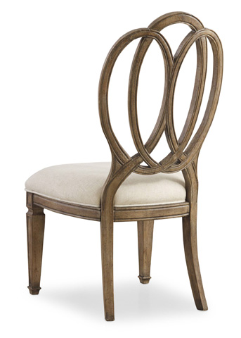 Image of Solana Wood Back Side Chair