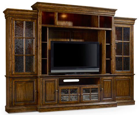 Image of Brantley Four Piece Entertainment Center
