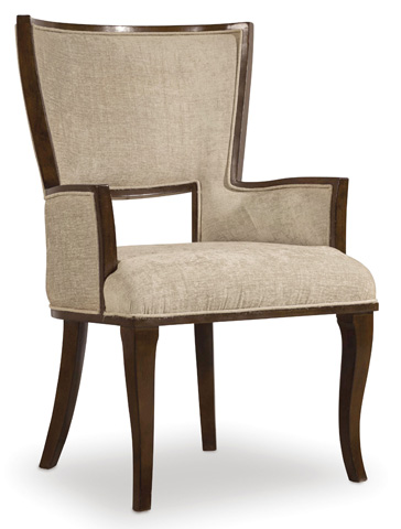 Image of Skyline Upholstered Arm Chair
