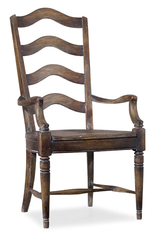 Hooker Furniture - Willow Bend Ladderback Arm Chair - 5343-75300