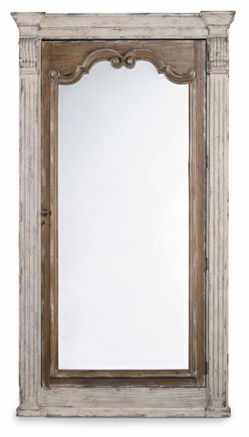 Image of Chatelet Floor Mirror with Jewelry Armoire Storage