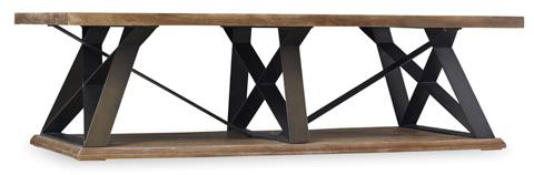 Hooker Furniture - Studio 7H Crisscross Trestle Cocktail Table - 5382-80110