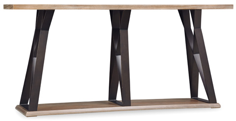 Image of Studio 7H Crisscross Console Table